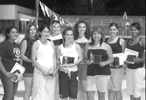 Varsity Softball Awards