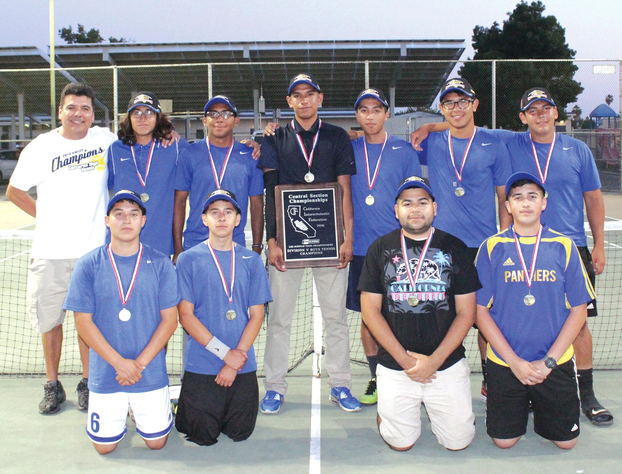 CHS Tennis Wins Valley