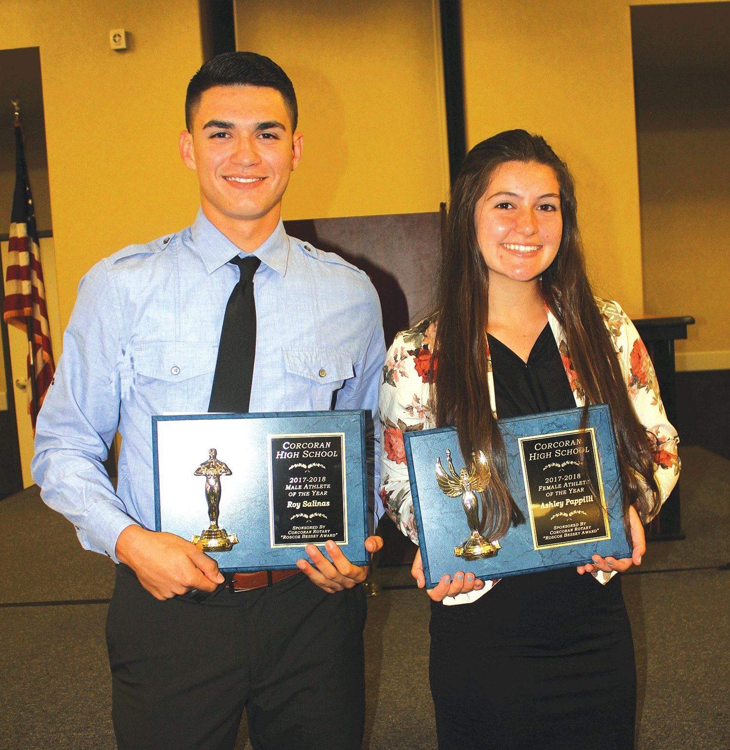 Salinas, Pappilli are top CHS athletes
