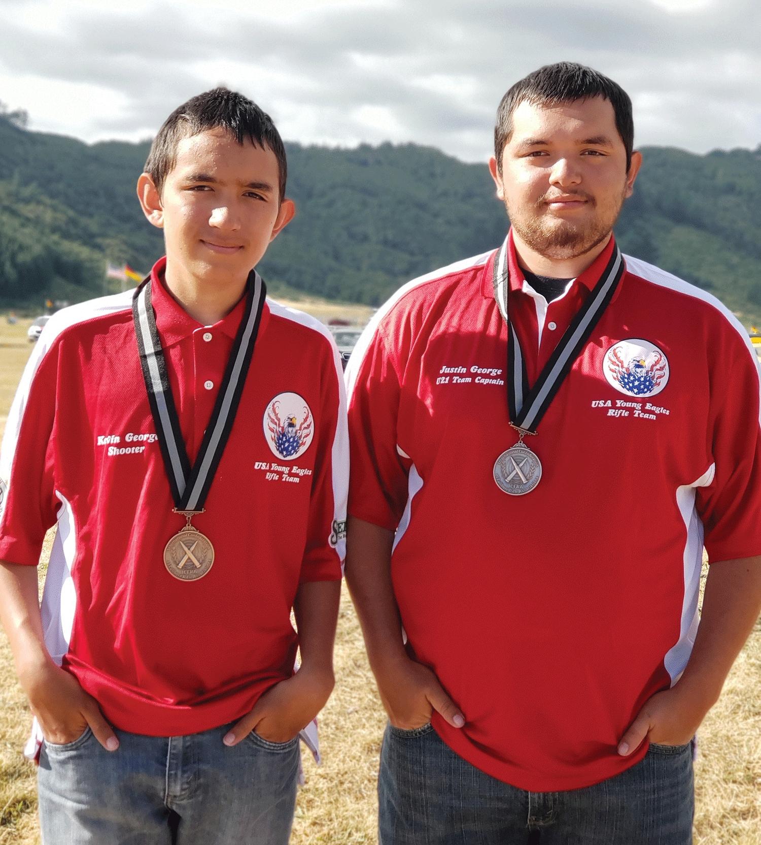 Brothers win bronze